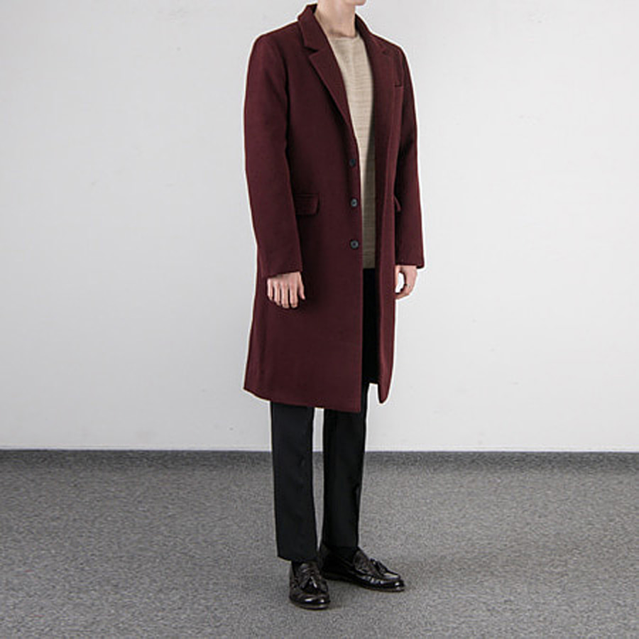 [BT1141]Basic Three Button Single Coat( 5 color M~5XL size )