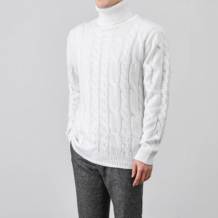 [BY0818]Big Twist Knit( 6 color M/L size )