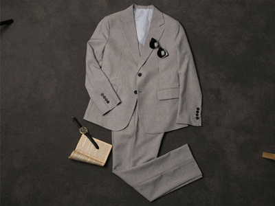 [BL1397]Urban Suit - Grey( 1 color S/M/L size )