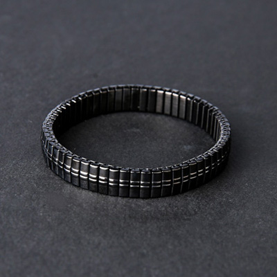 [BL0837]Flexible Bracelet-Black( 1 color Free size )