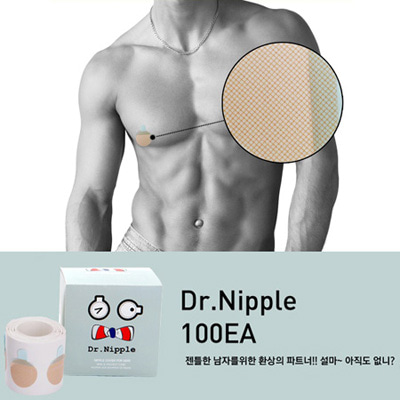 [BJ1316]Mr. Nipple Band( 1 color Free size )