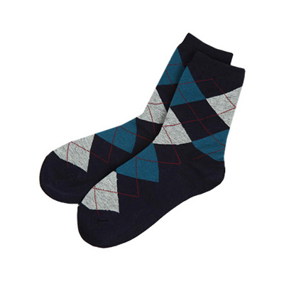 [BJ2888]Argyle Socks( 5 color Free size )