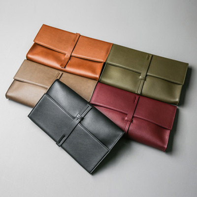 [BA1177]Belted Clutch( 5 color Free size )