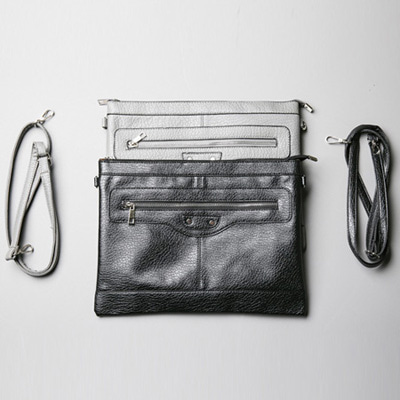 [BA1911]Cross Bag Clutch( 2 color Free size )
