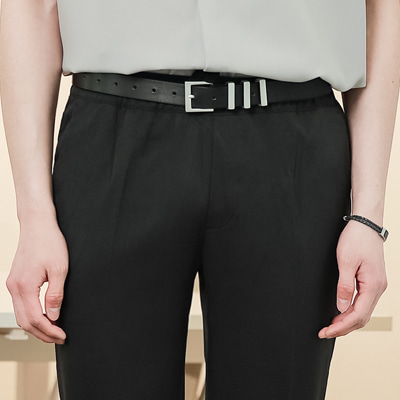 [BE2557]YSL Leather Belt( 4 color Free size )