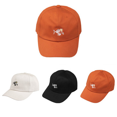 [BC0148]Cartoon Fish Ballcap ( 3 color Free size )