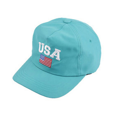 [BC1332]Rainbow USA Cap( 9 color Free size )