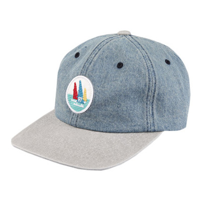 [BE0129]Denim Yacht Ballcap( 3 color Free size )