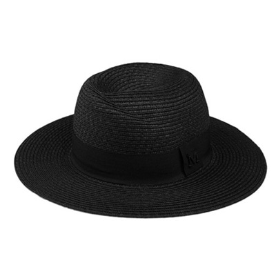 [BF1851]Point Straw Fedora ( 5 color Free size )