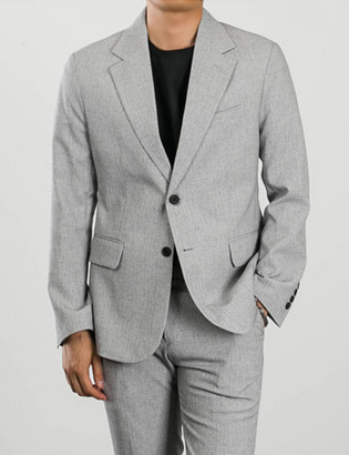 [BL1399]Urban  Jacket - Grey( 1 color S/M/L size )