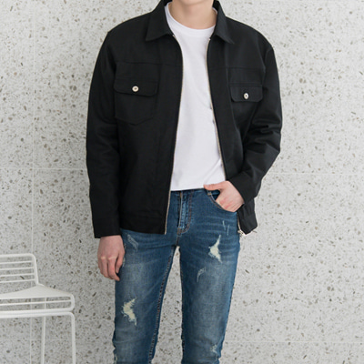 [BC1642]Orion Trucker Jacket(  2color M/L size )