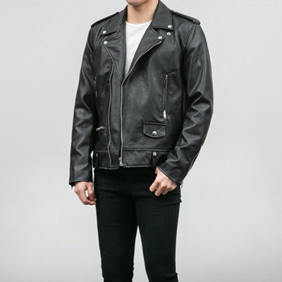 [BA2530]Basic Rider Jacket( 1 color M/L size )