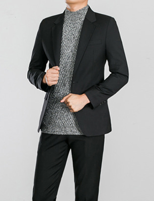 [BS0762]Morris Jacket - Black( 1 color M~XXL size )