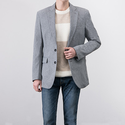 [BA2435]Daily Two-tone Blazer( 10 color S~XL size )