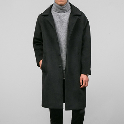 [BT2799]Premium Hidden Button Coat( 1 color L/XL size )