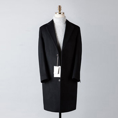 [BT2672]Cashmere Over Coat_black( 1 color M/L 사이즈 )
