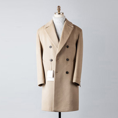 [BT2674]Cashmere Double Over Coat_begie( 1 color M/L 사이즈 )