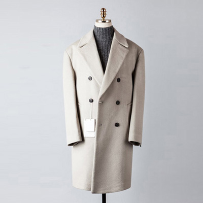 [BT2675]Cashmere Double Over Coat_lightbeige( 1 color M/L 사이즈 )