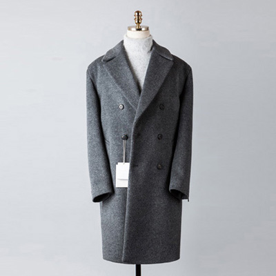 [BT2676]Cashmere Double Over Coat_charcoal( 1 color M/L 사이즈 )