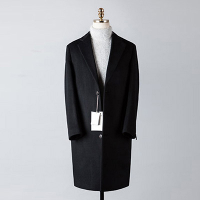 [BT2678]Cashmere Double Over Coat_black( 1 color M/L 사이즈 )
