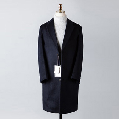[BT2679]Cashmere Double Over Coat_navy( 1 color M/L 사이즈 )