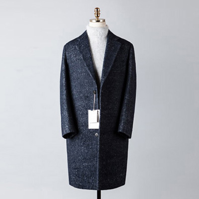 [BT2680]Plain Over Coat_navy( 1 color M/L 사이즈 )
