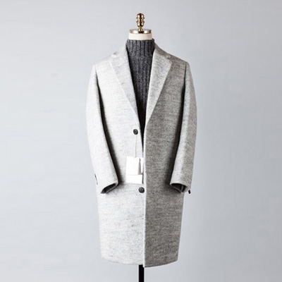 [BT2681]Plain Over Coat_ivory( 1 color M/L 사이즈 )