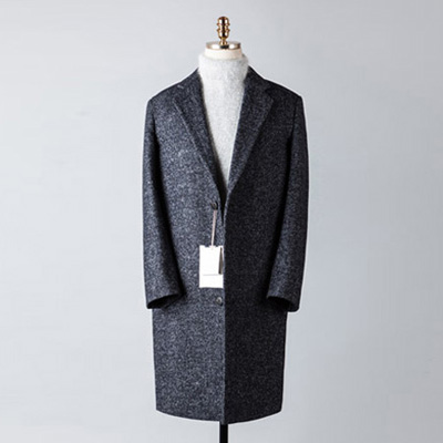 [BT2686]Herringbone Over Coat_navy( 1 color M/L 사이즈 )