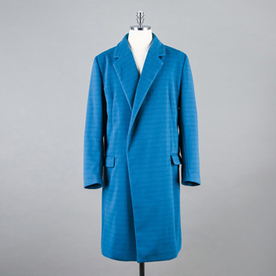 [BB1591]Emerald Stripe Snap Button Coat( 1 color L/XL size )