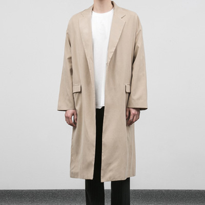 [BC2879]Trench Snap Coat( 2 color M/L size )