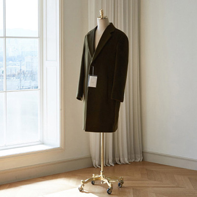 [BT2767]Siena Cashmere Over Coat_khaki( 1 color M/L/XL size )