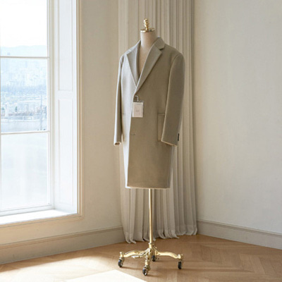 [BT2768]Siena Cashmere Over Coat_light beige( 1 color M/L/XL size )