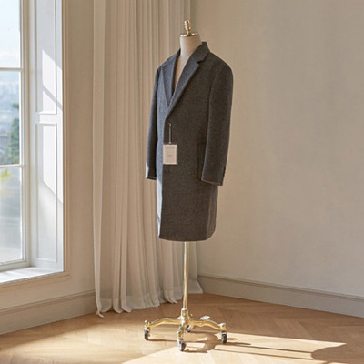 [BT2769]Siena Cashmere Over Coat_charcoal( 1 color M/L/XL size )