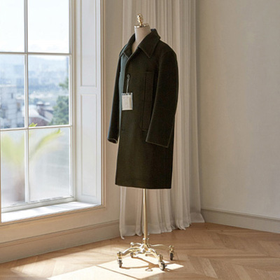 [BT2775]Siena Overfit Mac Coat_khaki ( 1 color M/L size )