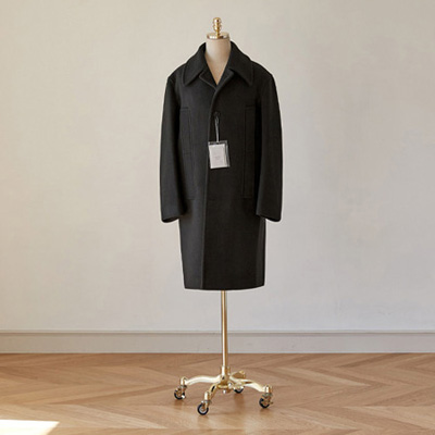 [BT2777]Siena Overfit Mac Coat_black ( 1 color M/L size )