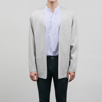 [BE0505]Open Cut Cardigan( 2 color Free size )