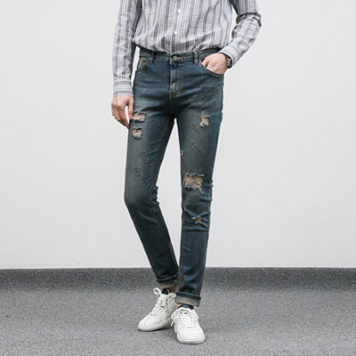 [BC2884]Venice Tension Jeans( 1 color S~XL size )