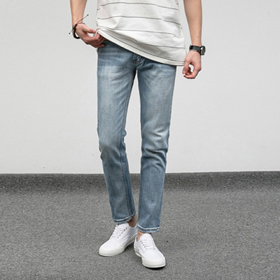 [BJ0807]Cloud Washing Jeans( 1 color S~XL size )