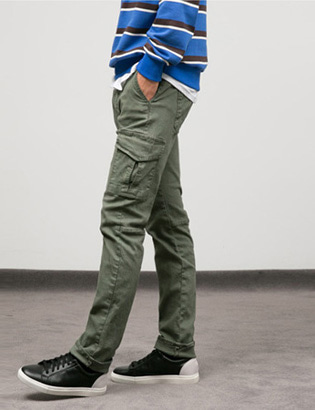 [BT2049]Washing Cargo Pants( 1 color M/L/XL size )