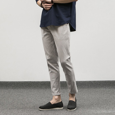 [BE2670]Chino Banding Pants( 4 color M/L size )