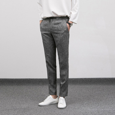 [BE0512]Scratch Bokashi Slacks( 1 color S/M/L size )