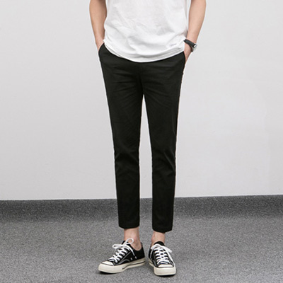 [BE0517]1+1Ankle Line Linen Slacks( 3 color S/M/L size )