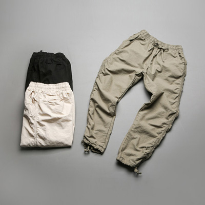 [BE1237]Side banding pants( 3 color S/M/L size )