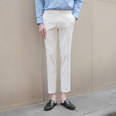 [BE1392]Slim Chino Pants(  6color M/L/XL size )