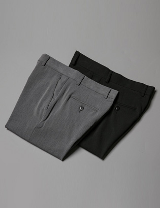 [BL2734]Daily Useful Slacks( 2 color S~XXL size )