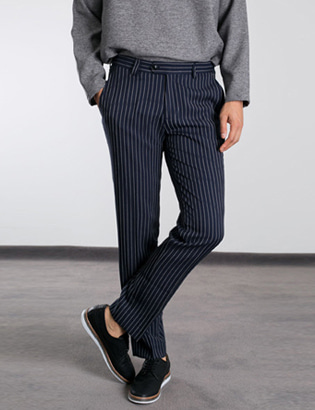 [BP2204]Rookie Stripe Slacks( 1 color S~XL size )