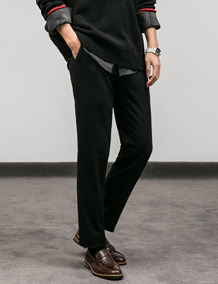 [BT1140]Side Banded Slacks( 3 color M/L/XL size )