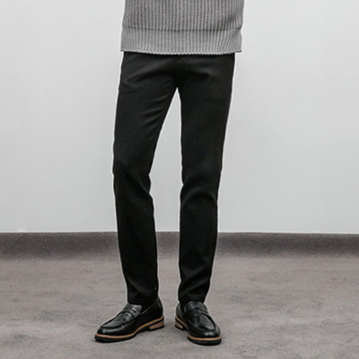 [BX1519]Hard Wool Slacks( 3 color S/M/L size )