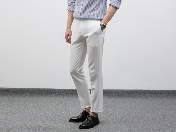 [BE0527]Hidden Band TR Slacks( 4 color S~XL size )