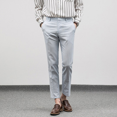 [BF1018]Linen Sky Slacks( 1 color S/M/L size )